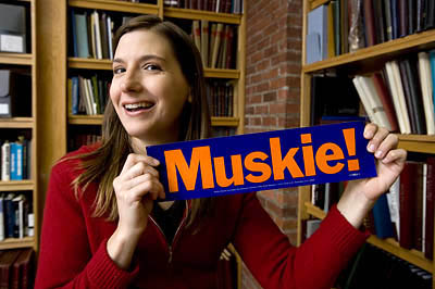 Director of Muskie Archives and Special Collection Library Kat Stefko; Bates Muskie Oral History Project recently won the Elizabeth B. Mason Major Project Award, from the Oral History Association, for excellence in an oral history project. The Muskie project comprises some 400 interviews.