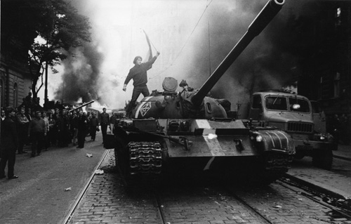 End of the Prague Spring 1968